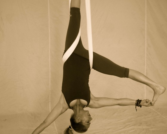 Aerial Flow Yoga Workshop für Anfänger